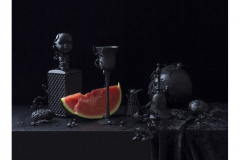 3rd-Place-28-dp.-Art-Golacki-Still-Life-in-Black-with-Watermelon-c