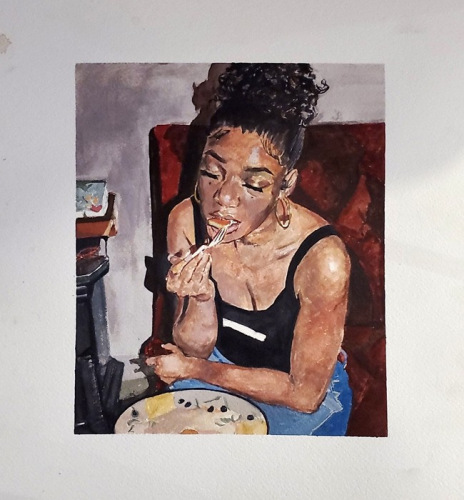10th Place<br />(Watercolor) <br />Abigail Albano-Payton