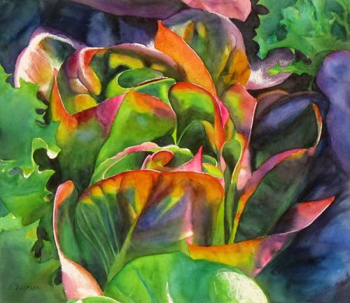 Honorable Mention<br />(Watercolor) <br />Elizabeth Burin