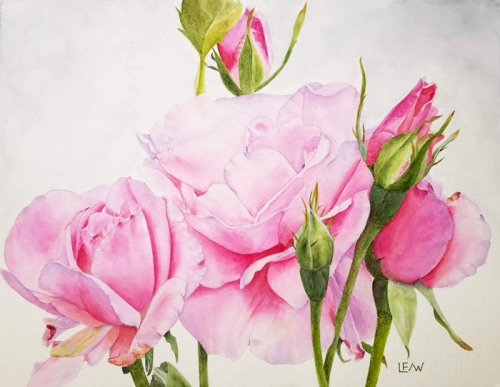 Honorable Mention<br />(Watercolor) <br />Lisa Freeman-Wood