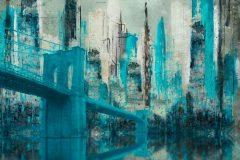 """Blue Brooklyn Bridge"""