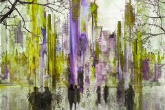 """""""Green and Purple City"""""""