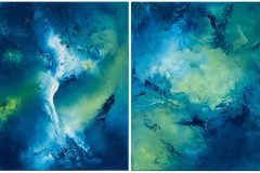 """""""Wing and A Prayer Diptych"""""""