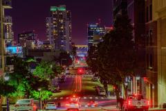 """""""Downtown San Diego, Light Streak"""""""