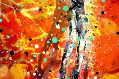 """""""Lava Lady"""" (Part 2 of """"Lady"""" diptych)"""