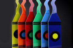 """Rainbow Crayons"""