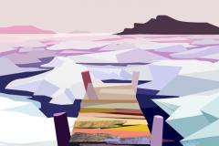 """Sea Ice on White Bay"""