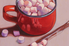 """""""Hot chocolate and marshmallows"""""""